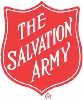 Salvation Army Logo Which Is A Red Shield