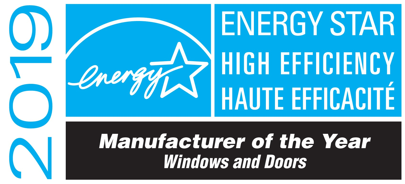 2019 Energy Star Manufacturer of the year