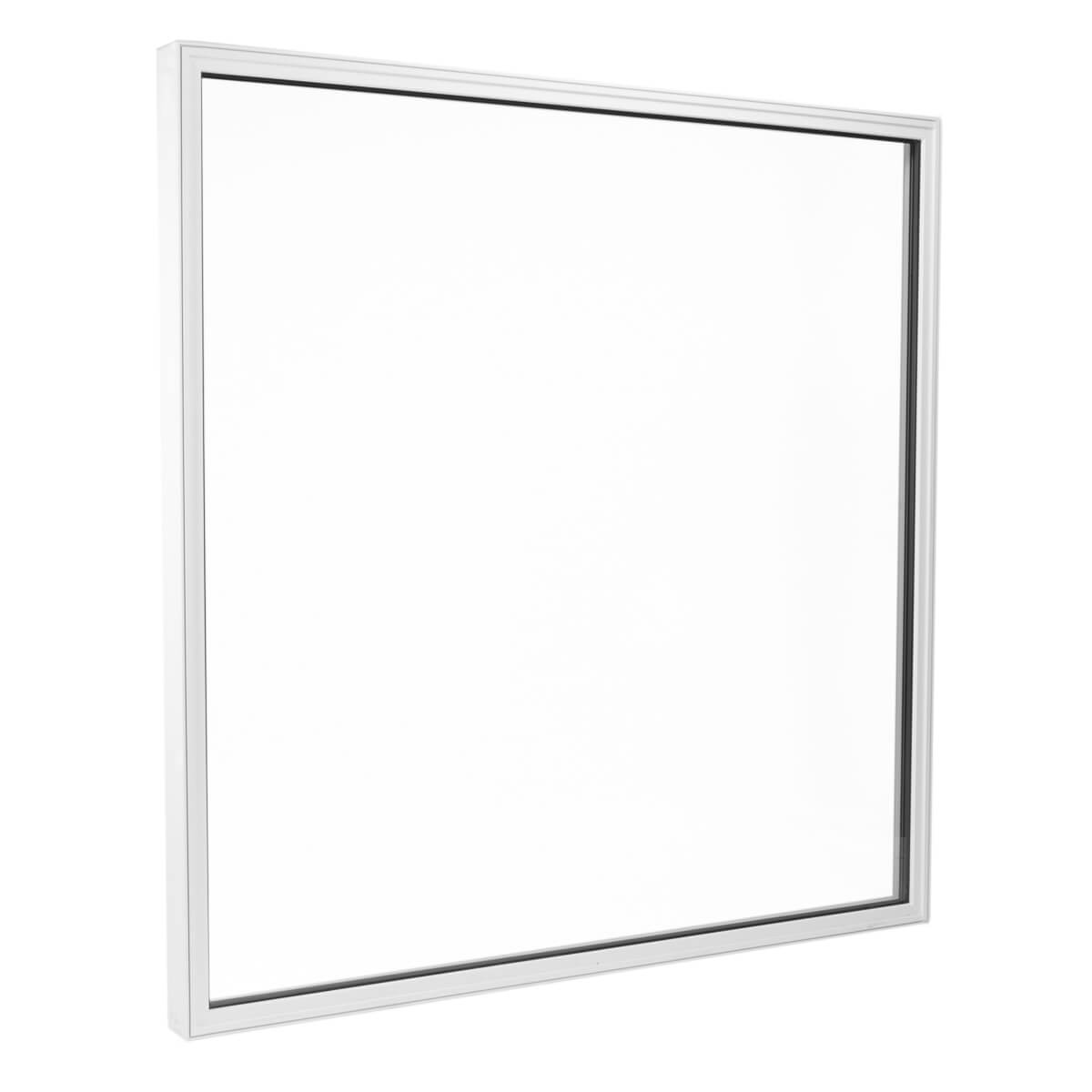 Custom Made Fixed Picture Window on a White Background